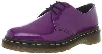 Dr. Martens Women's Patent 1461 Purple Casual Lace Ups 10084510 4 UK