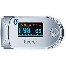 Beurer PO60 Pulse Oximeter with Bluetooth and Health Manager App