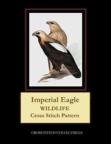 Imperial Eagle: Wildlife Cross Stitch Pattern