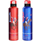 Beverly. Hills Polo Club 1 & 8 Fragrance Spray For Men Set Of 2