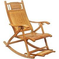 fauteuils bascule fauteuil inclinable adulte en bambou balcon chaise de pause personnes ges fauteuil de - Fauteuil Bambou
