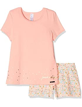 Skiny Mädchen Zweiteiliger Schlafanzug Lovely Dreams Sleep Girls Pyjama Kurz