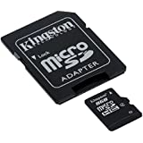 Kingston Technology - SDC4 - Carte Micro SDHC 8 Go Classe 4 avec Adaptateur
