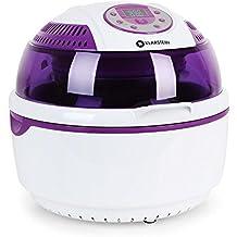 Klarstein VitAir Fryer Friteuse sans huile à air chaud (capacité de 9L, fonction four, 1400W, max. 230°, nettoyage facile) - violet