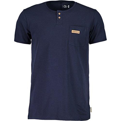 Maloja Turkum Shirt, Herren M blau (mountain lake) (Short Shirt Lake Sleeve)