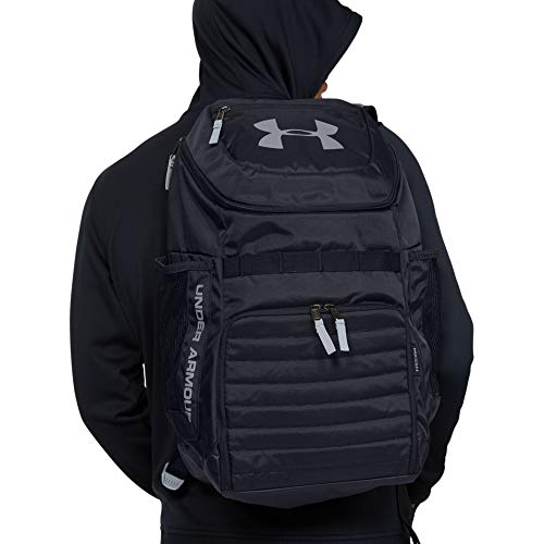 Under Armour Undeniable 3.0 Backpack, Black/Black, One Size Image 11