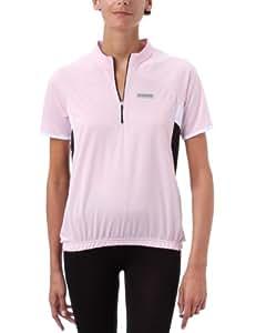 Shimano CW0W103253XL Damen Originals Kurzarmtrikot, pink/weiß/schwarz(pink mist/white/black, XL