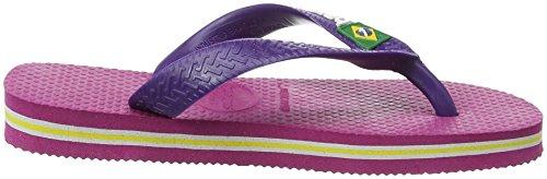 Havaianas 4110850, Infradito Bambini Multicolore (Raspberry Rose/New Purple 9491)