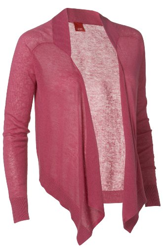 ESPRIT grossesse umstandsmode/cardigan pour femme comfort fit q84504 Rouge - Rot (raspberry 640)