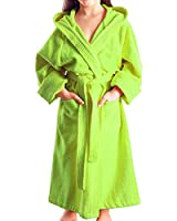 Arus Child�??s Bathrobe, 116 (128), Lemon Green