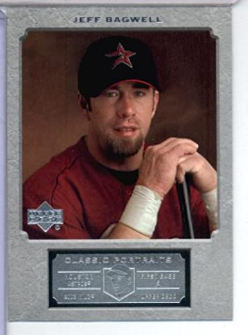 2003 Upper Deck Classic Portraits Baseball Card # 47 Jeff Bagwell Houston Astros