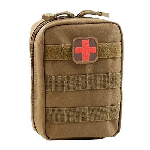 Homieco EMT Medical Erste Hilfe IFAK Pouch für Taktische MOLLE-kompatible Ausrüstungswanderer Camper Outdoor-Begeisterte - Medical Molle Pouch