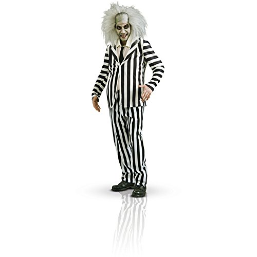 Rubie's Official Beetlejuice Men's Adult Costume - Size X-Large