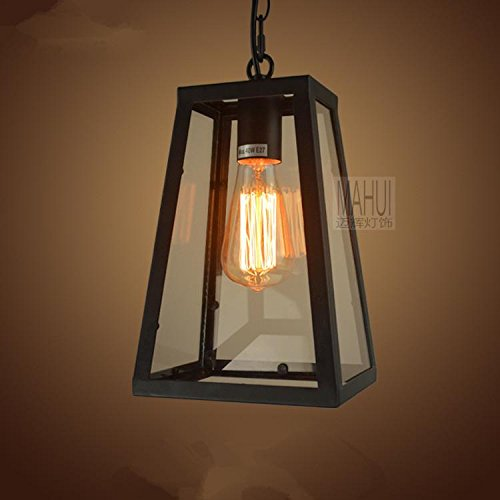 FUMIMID Moderno stile industriale Home Plafoniera, luce pendente illuminazione lampadari [classe energetica A+] D170*H270(mm)