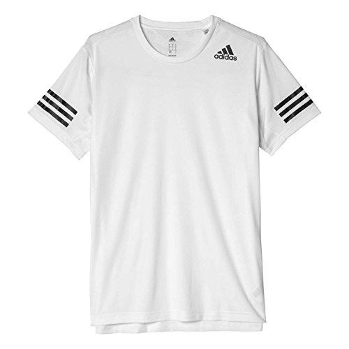 adidas Herren Freelift Climacool T-Shirt, White, L