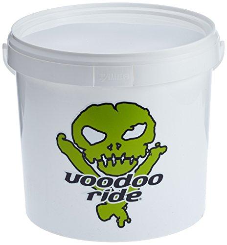 Voodoo Ride Emmer wit Eimer 15 L - Weiß + Deckel + Grid + Logo, Green