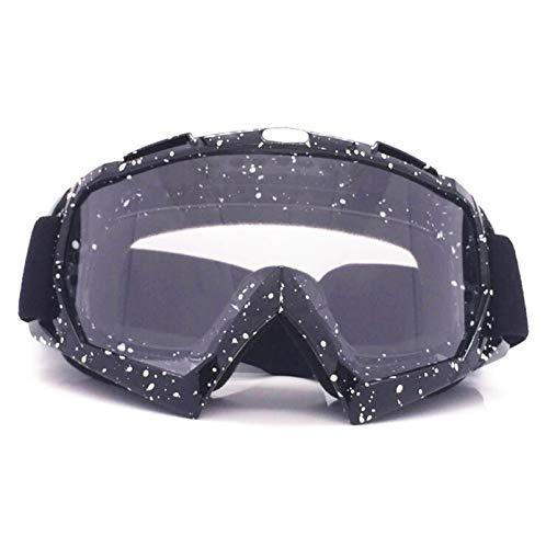 7e8d88adf3 Epinki Hombre PC Gafas de Motocicleta Deportivas Gafas de Esquí Gafas de  Protección Anti-Nebel Gafas para Esquí Motonieve Motocicleta Bicicleta, ...