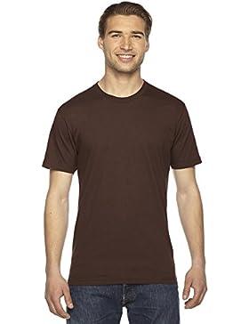 American Apparel - Camiseta - Vestir - para hombre Marrón marrón X-Large