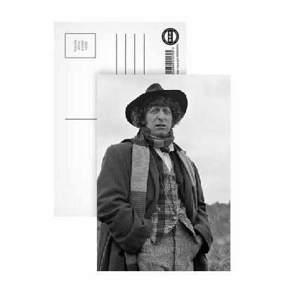 tom-baker-doctor-who-postcard-6x4-inch-art247-highest-quality-standard-size-by-art247