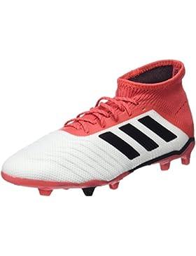 adidas Predator 18.1 FG J, Botas de fútbol Unisex Niños