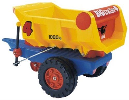 BIG 742 - Dump-Trailer, Hänger mit Kippvorrichtung, 60cm