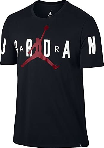 reputable site d1a76 f53b7 Nike Jordan Stretched Tee, Maglietta Uomo, Nero Nero Nero Gym rosso, XL  B01N2WUZUQ Parent   Stravagante   Conosciuto per la sua eccellente qualità  ...