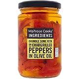 Ingredientes Pimientos Cocineros De Oliva 280 G De Aceite Waitrose - Paquete de 2