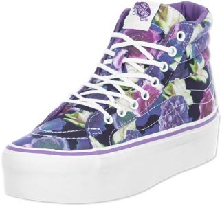 Vans Sk8 Hi Platform chaussures Violet