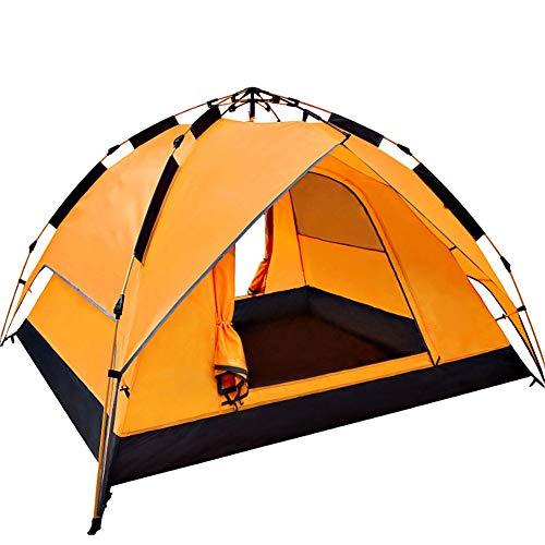 Famiglia campeggio tende, ultraleggero zaino in spalla frangivento apparire tenda da campeggio tienda viaggio escursionismo all'aperto impermeabile doppio strato (color : a)