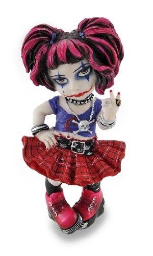 Things2Die4 Cosplay Kids Mini Goth Punk Girl Peace Zeichen geben Statue