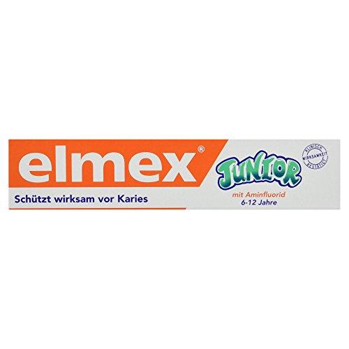 elmex JUNIOR Zahnpasta, 6-12 Jahre, 75 ml