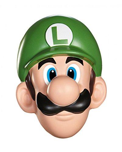 (Horror-Shop Nintendo Super Mario Maske Luigi für Fasching)