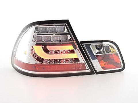 at72902–Feux arrière LED BMW SÉRIE 3E46Coupe Bj. 99–03chrome