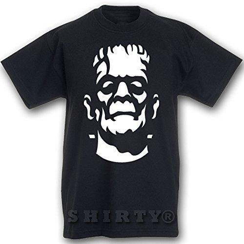 Frankensteins Monster - T Shirt - schwarz - S bis 5XL - 209 Schwarz