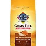 Nature's Recipe Grain Free Small Breed Easy to Digest Real Chicken Dog Food 4lbs