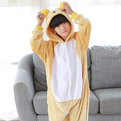 Kostüm Jumpsuit Tier Fasching Karneval Halloween Kostüm Mädchen Junge Kinder Unisex Cosplay Schlafanzug,14-140