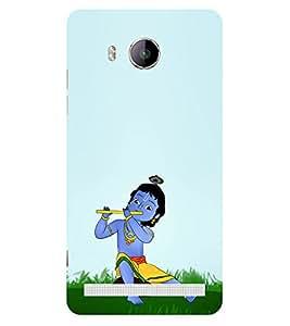 ifasho Designer Phone Back Case Cover Vivo Xshot :: Vivo X Shot ( Colorful Pattern Design Yellow Blue Triangle )