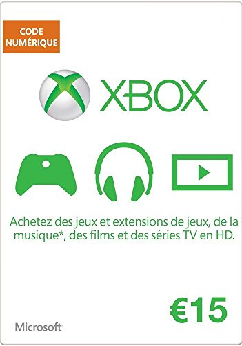 MICROSOFT MS ESD Gift Card Xbox LIVE AGENCY Online 15 E (15 Gift Card Xbox)
