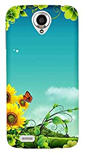 WOW Printed Designer Mobile Case Back Cover For Lenovo S820