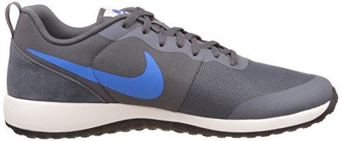 Nike Elite Shinsen, Scarpe da Corsa Uomo, Verde, Talla Grigio / blu / nero (grigio scuro / Foto Blu-Sail-Blck)
