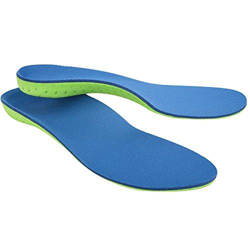 SOUMIT RUNNING Schuheinlagen | Dämpfung Massage Sport Einlegesohlen, Antibakteriell Geruch Schuhe Pads für Alltag, Freizeit and Beruf (Damen & Herren, XL EU46-47)