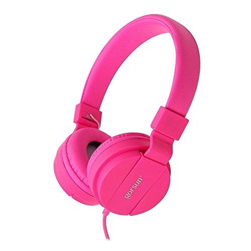 ONTA gorsun Faltbarer Kopfhörer Leichte Einklappbare Headsets On Ear Audio Kopfhörer für Kinder Handys Smartphones iPhone Laptop Computer...