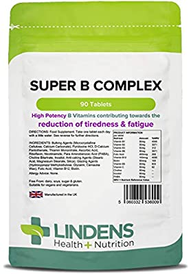 Super Vitamin B Complex (NEW) Tablets (90 pack)