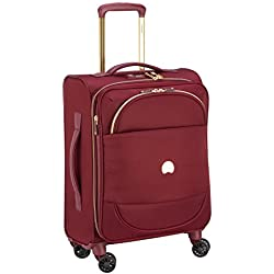 DELSEY Montrouge Maleta, 55 cm, 42 Liters, Rojo (Rouge)
