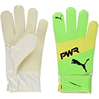 Puma Evopower Grip 4.3, Guanti da Portiere Unisex-Adulto, Green Gecko/Safety Yellow/Nero, 10