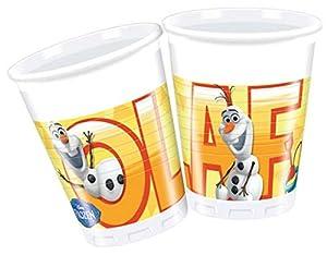 Procos S.A. - Cubertería para Fiestas Olaf, Frozen Disney (71994)