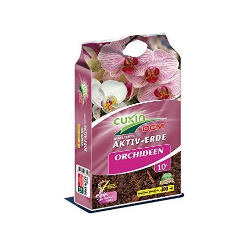 Orchideenerde 10 L ● Erde für alle Orchideen ● zum Umtopfen und mit 100 Tage Dünger ● fein