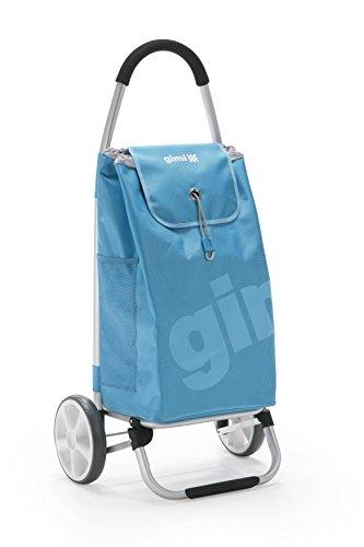 Gimi Galaxy Einkaufstrolley, Alluminium, Polyester, blau