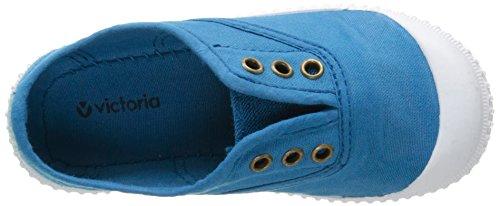 VictoriaInglesa Lona Tenida Punt - Basse Unisex - Bambini Bleu (130 Royal)