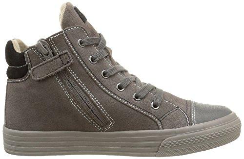 Garvalin York, Sneakers Hautes garçon Gris (C Gris/Serraje)